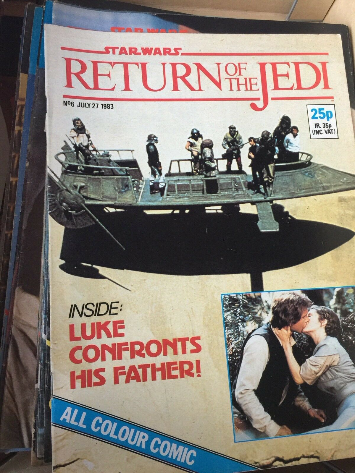 Vintage Marvel Regreso del Jedi 1983 Comics Trabajo Lote Paquete