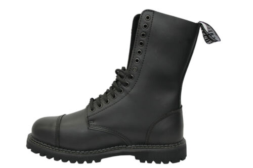 Grinders Herald CS Derby Black 14 Hole Men/'s Ladies Safety Steel Toe Boots