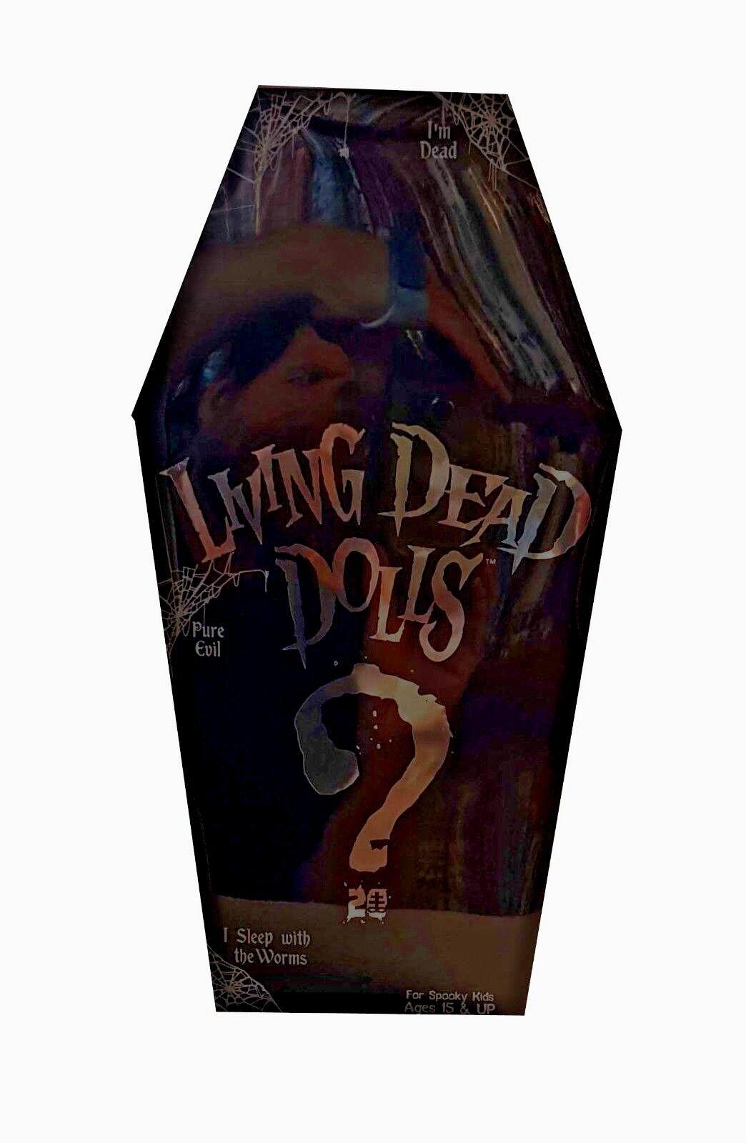 Living Dead Dolls Series 35 20th aniversario serie Misterio Misterio Misterio Muñeca Chase-Sellado  artículos de promoción