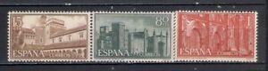 EDIFIL-1250-1252-ESPANA-1959-SERIE-MONASTERIO-NUESTRA-SENORA-GUADALUPE