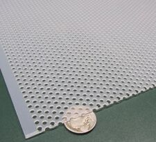 Polypropylene Perforated Sheet 116 Thick X 24 X 24 18 Dia Hole Stagger