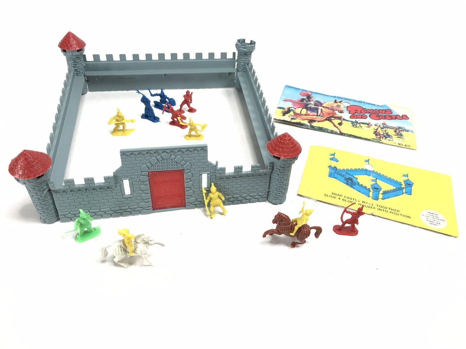 Romanos y Castillo Raro Snap Castle & Guerrero Figura Moldes Accoutrements no 811