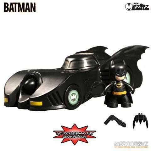 1989 BATMAN & BATMOBILE (DC Universe) Mez-Itz Mez-Itz Mez-Itz Veicolo 79a769