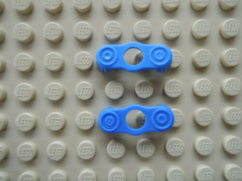 Lego 2 x Schulterklappe Epaulette 2526 blau
