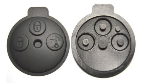 Tastenfeld 1 Stück 3-Tasten Key Pad Gummi Schlüssel Smart 451 Fortwo Tastenmatte