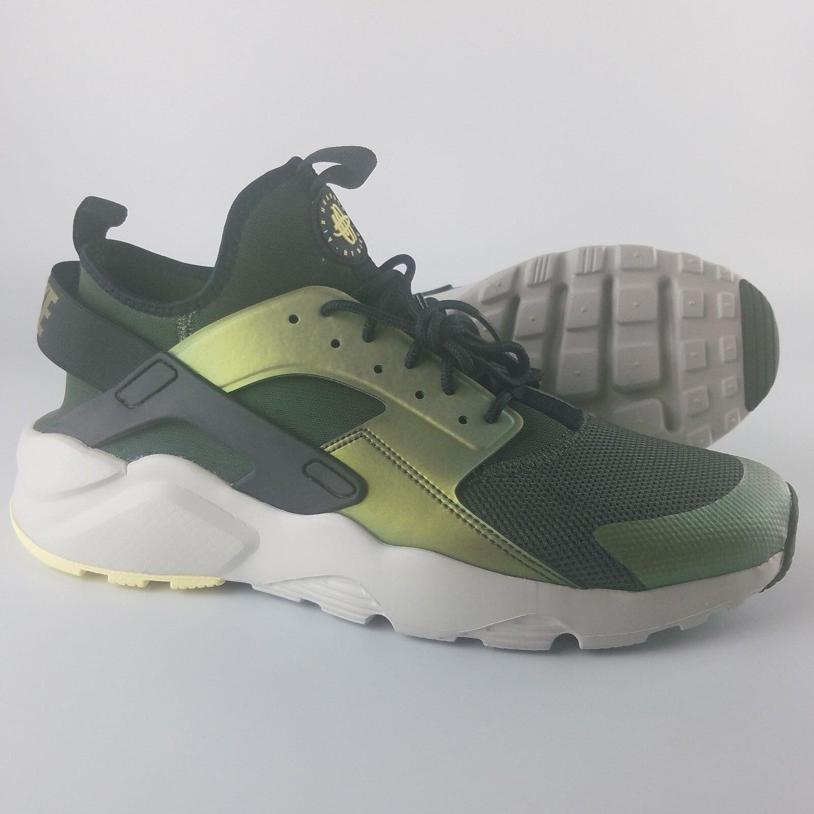 Nike Air Huarache Run Ultra SE Men's Cross Training shoes Sequoia Black Lgt Bone