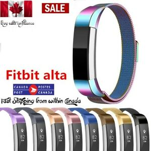 NEW-Stainless-Steel-Watch-Band-Bracelets-Wrist-Strap-For-Fitbit-Alta-HR-Alta-ACE