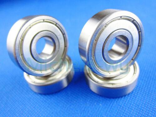 10 Balls Bearing Scroll Ball Bearings 12mm*28mm*8mm Deep Groove 6001ZZ 6001-2RS