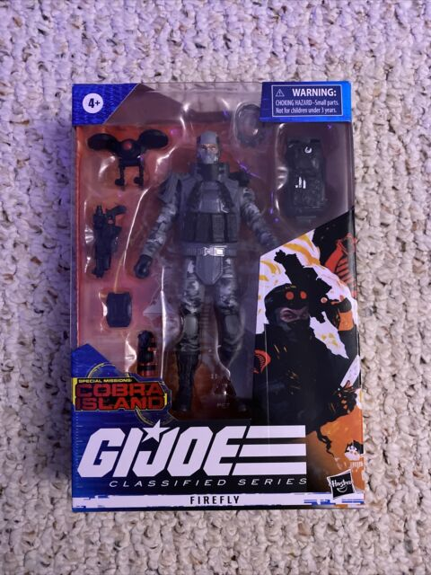 G.I Joe Classified Series Special Missions Cobra Island Firefly IN HAND