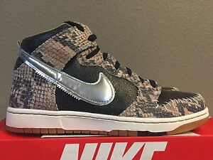 reputable site c01a6 4b249 Image is loading Nike-Dunk-CMFT-PRM-QS-716714-001-Snakeskin-
