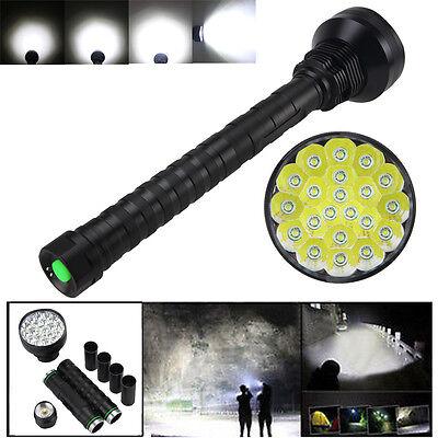 Wiederaufladbare 28000LM 21x XM-L T6 LED 5 Modus Taschenlampe Camping Lamp Licht