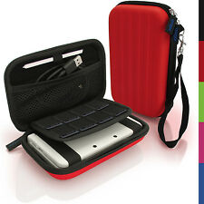 Rot Hart Tasche Schutzhülle fur Nintendo 3DS XL 3DSXL Alle Version Etui Case