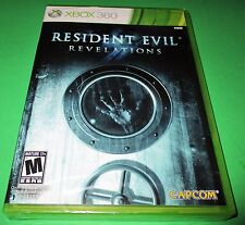 Resident Evil Revelations Microsoft Xbox 360 *Factory Sealed! *Free Shipping!