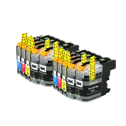 10PK LC207 LC205 XXL Compatible Ink Cartridge for Brother MFC-J4420DW MFC-5720DW