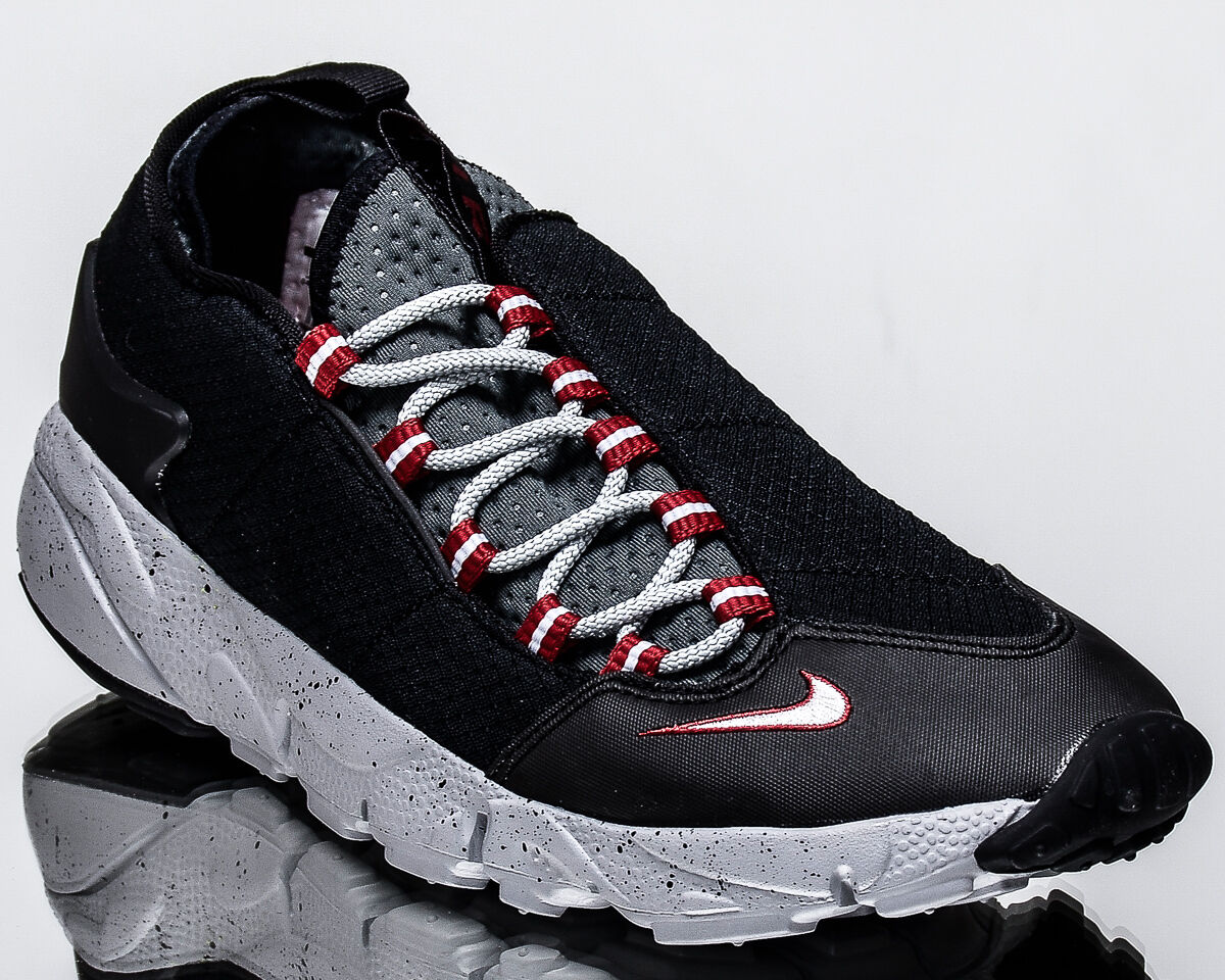 Nike Air Footscape NM men lifestyle sneakers sneakers sneakers NEW black wolf grey 852629-001 04b3c3