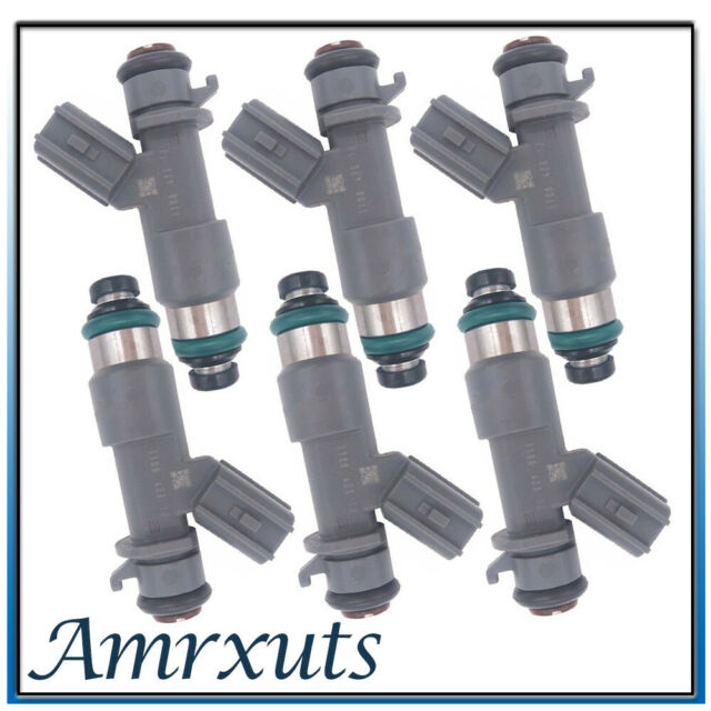 6X Fuel Injector For Honda Accord Crosstour Acura MDX TL