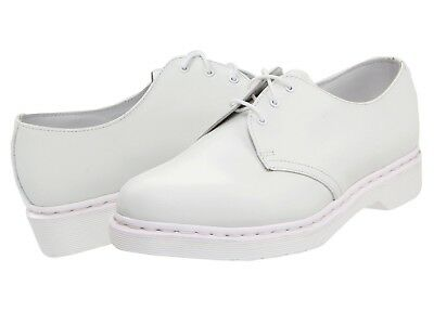 Dr. Martens 1461 3 Tie Shoe (Black Smooth) Lace up casual
