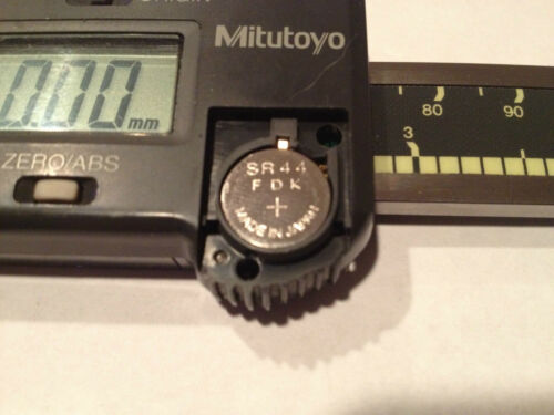 #1 Mitutoyo Caliper Replacement Part Battery Cover Lid 09GAA185