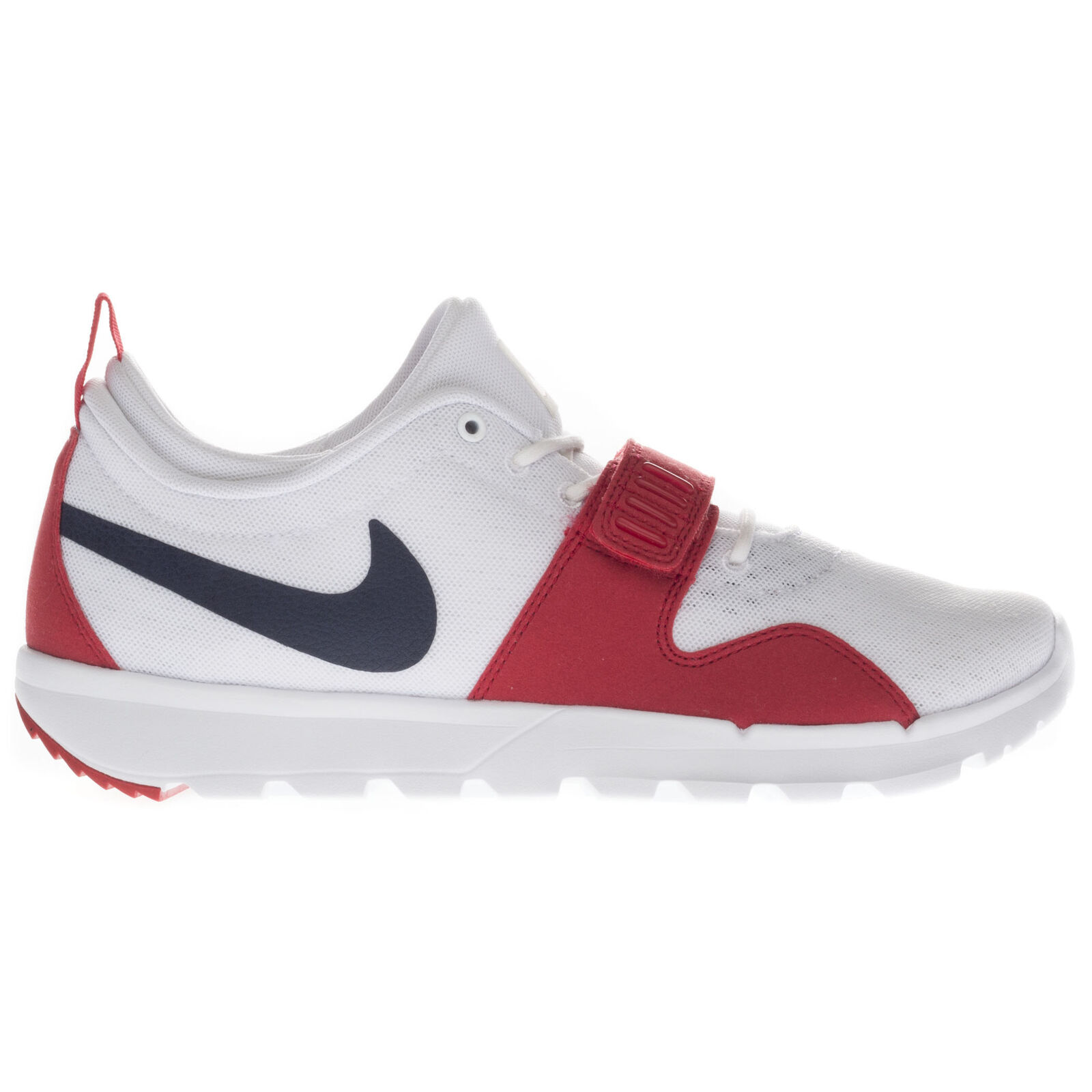 Nike Homme Trainerendor Low Top Lace Up Trainers With Strap and Rubber Sole Taille