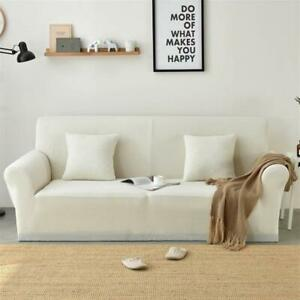 Stupendous Details About Easy Fit Stretch Sofa Slipcover Protector Plaid Soft Couch Cover 1 4Seater White Pdpeps Interior Chair Design Pdpepsorg