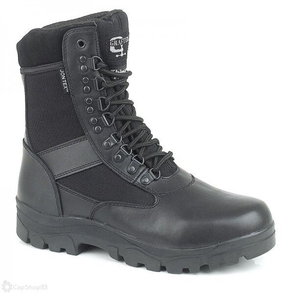 Grafters Sniper 8 Waterproof Police Boot Leather and Nylon M482A