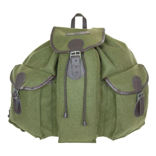 Eurohunt Jagdrucksack 5 25 Liter Grün Wanderrucksack Baumwolle Backpack