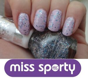 Miss Sporty Sparkle Touch Top Coat Nail Care 3607340538278 | eBay