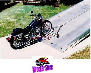 Motorcycle Dolly Cycle Loader For Rollback Car Carrier Tow