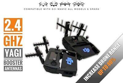 2 4 Ghz Yagi Booster Antennas For Dji Mavic All Models And Spark Range Extender Ebay
