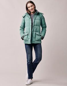 New Crew Clothing Womens Quilted Jacket in Green