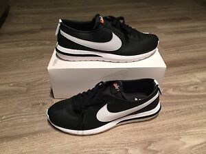 Nike Roshe Cortez NM SP Running Mens Shoes Black White (Box No Lid) 806952 010
