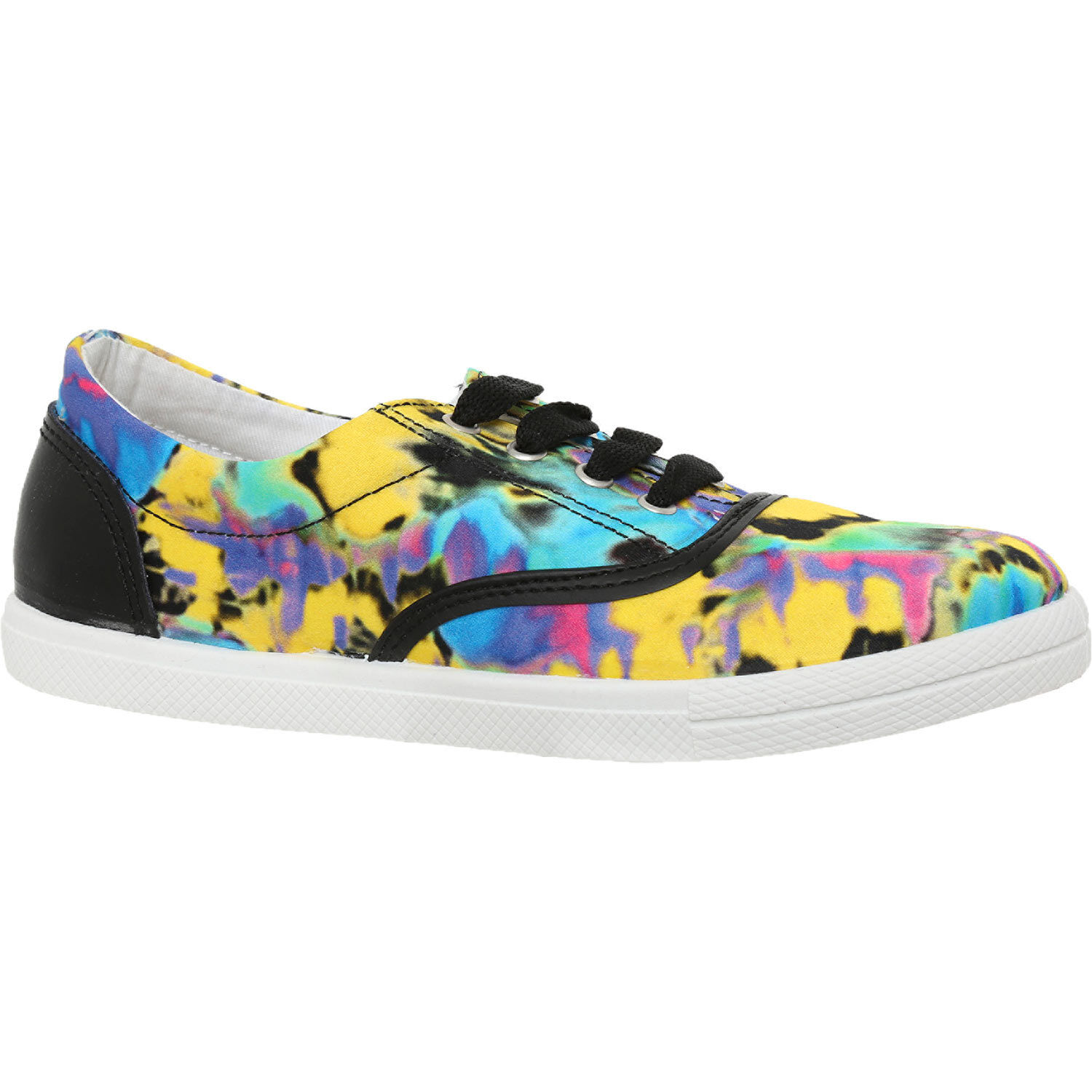 LOVE MOSCHINO Multicoloured Patterned Sneakers size UK 5 - New