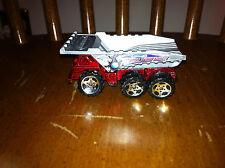 2001 Matchbox Demolition Force dump truck die cast toy vehicle Red Gray car old