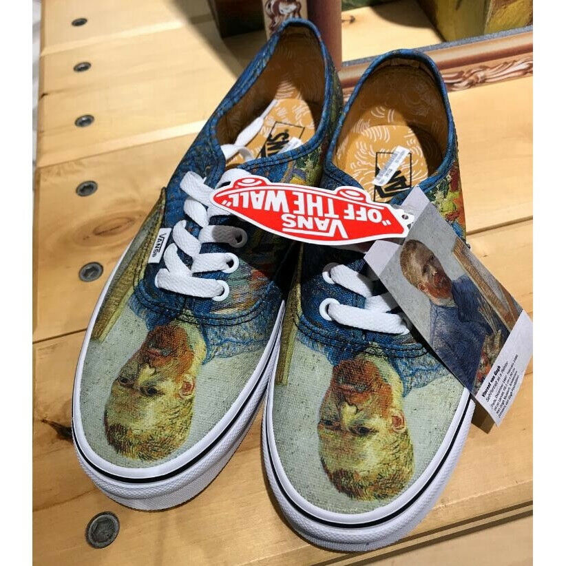 Vanses x Vincent Van Gogh Museum Authentic Self Portrait shoes