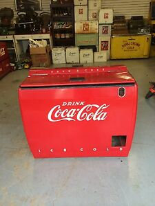 coca cola westinghouse ice chest coke machine 7up dr pepper pepsi ebay. Black Bedroom Furniture Sets. Home Design Ideas