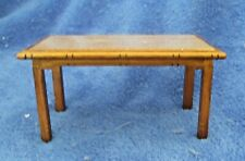 1//12 dollhouse miniature furniture table and 2 chairs J3V7