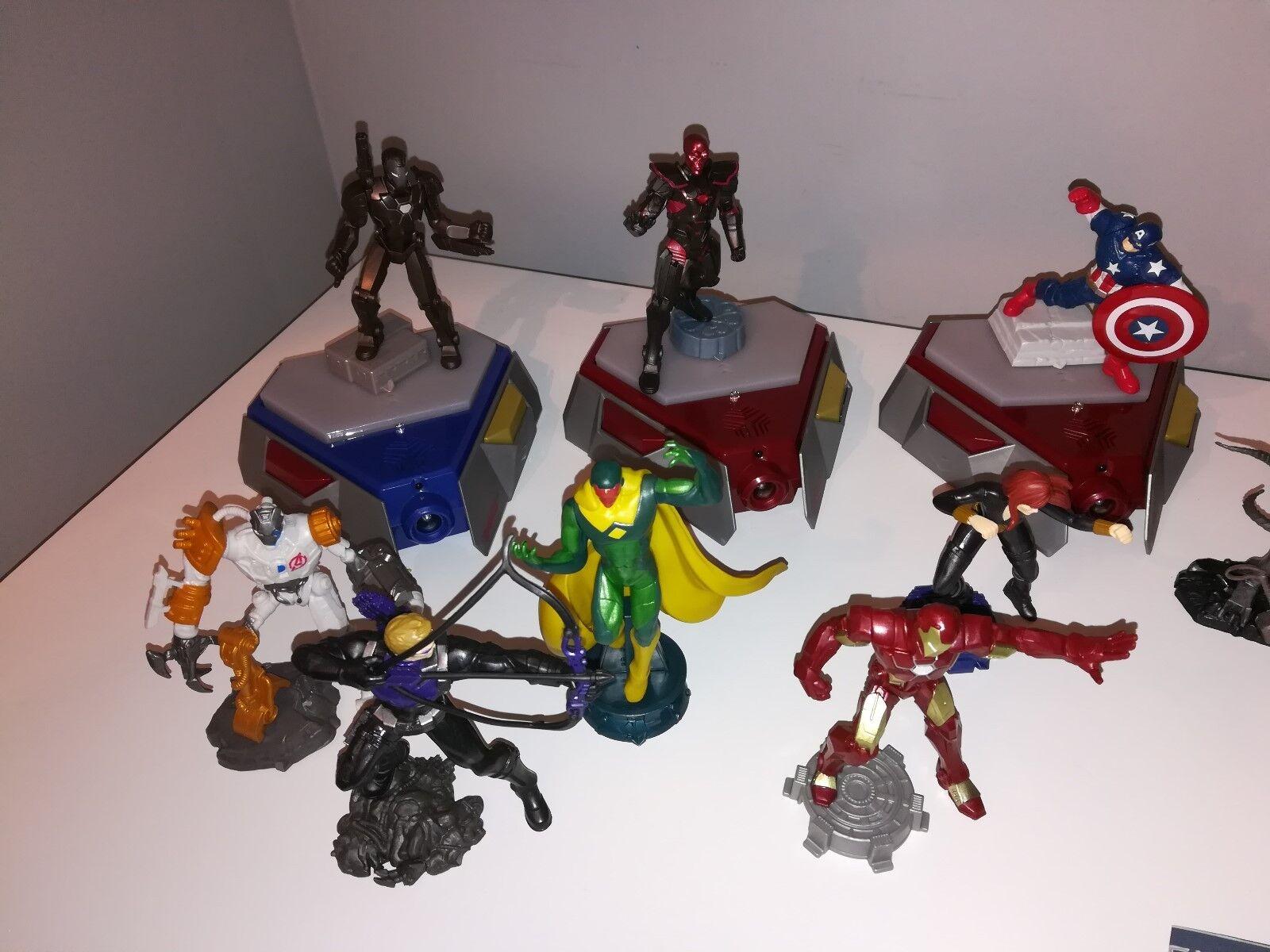 Hasbro Playmation Marvel lot - Hulk, Hulk autobuster, autobuster, autobuster, Ultron, Captain America, Visio 2583b9