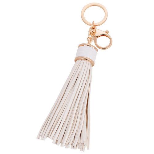 Quaste Shlüsselanhänger Handtasche Taschenanhänger Kette Geschenk für