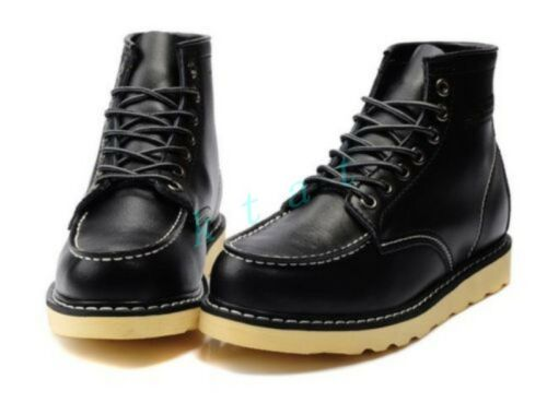Punk Mens lace up military high top platform shoes oxfords  High Top ankle boots