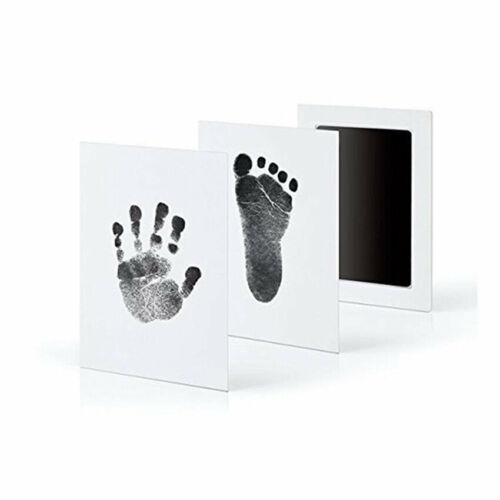 Cute Inkless Wipe Baby Kit-Hand Foot Print Keepsake Newborn Footprint Handprint