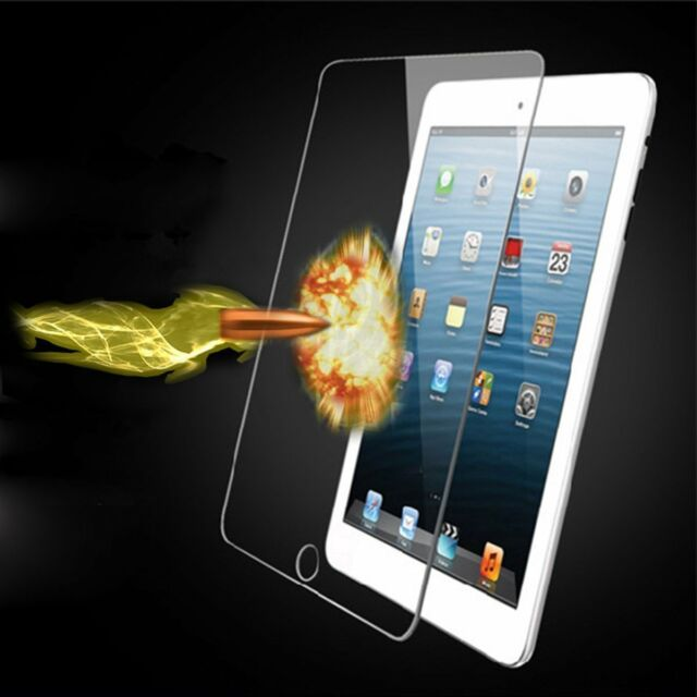 Premium Tempered Glass Screen Protector For Apple iPad 2 3 4 Air Mini iPhone 5S