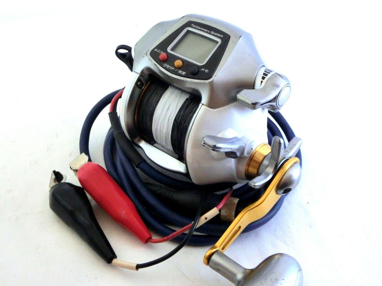 Shimano dendou-Maru 3000XH Hi-Power + Cocherete Electrico Usado PE línea Muy Buena