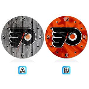 meet e47e1 a51e8 Details about Philadelphia Flyers Sport Wooden Wall Clock Modern Home  Office Decor