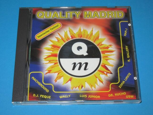 V.A. / Quality Madrid - Spanischer Techno! (GER 1995, Lost Paradise SPV) - CD