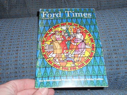 1965 FORD GALAXIE 500XL CONV FORD TIMES MAGAZINE 12-64