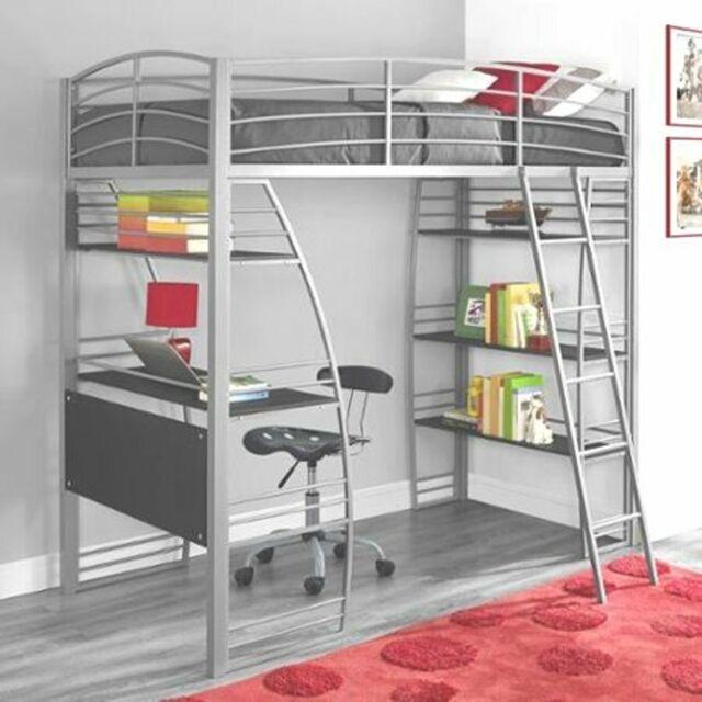 Coaster Leclair Twin Loft Bed Desk