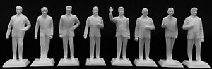 UNPAINTED-THE-EIGHT-U-S-PRESIDENT-FIGURINES-MARX-NEVER-MADE