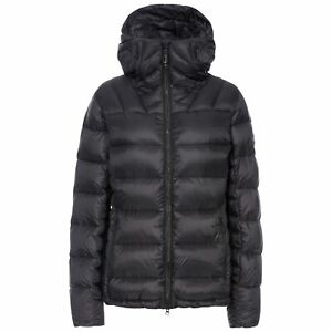 DLX-Pedley-Womens-Down-Jacket-DLX-Puffer-In-Black-With-Hood