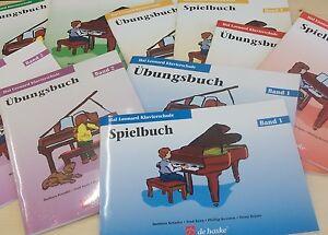 Hal-Leonard-Klavierschule-Band-1-2-3-4-oder-5-Ubungs-o-Spielbuch