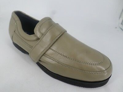 Chums Beige Leather Wide Fit Touch